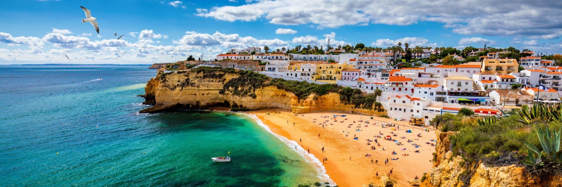 Plage de Carvoeiro - Algarve