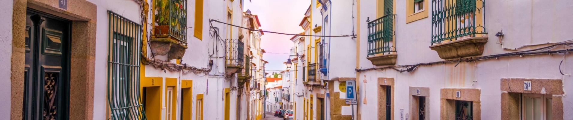 Rues Evora Portugal