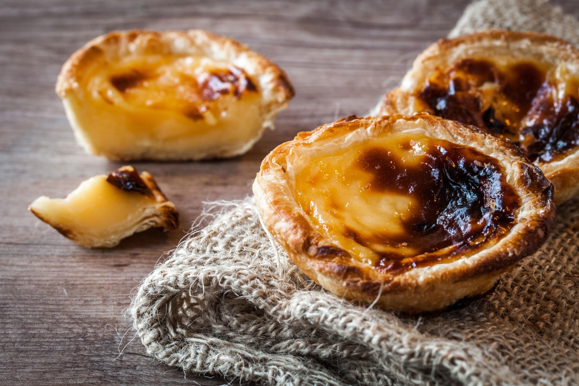 Pasteis de nata du Portugal