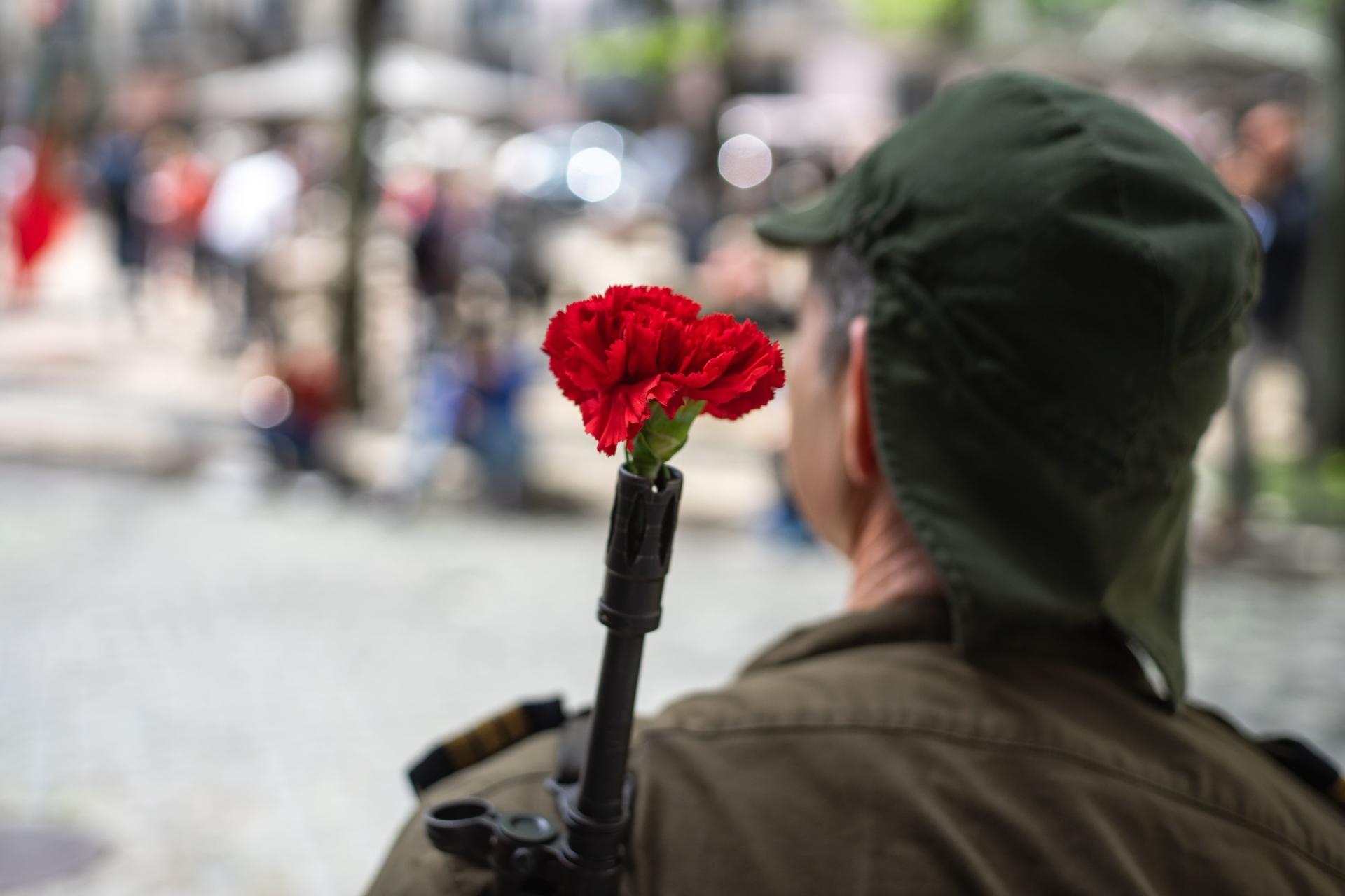 Célébration de la révolution des Œillets au Portugal