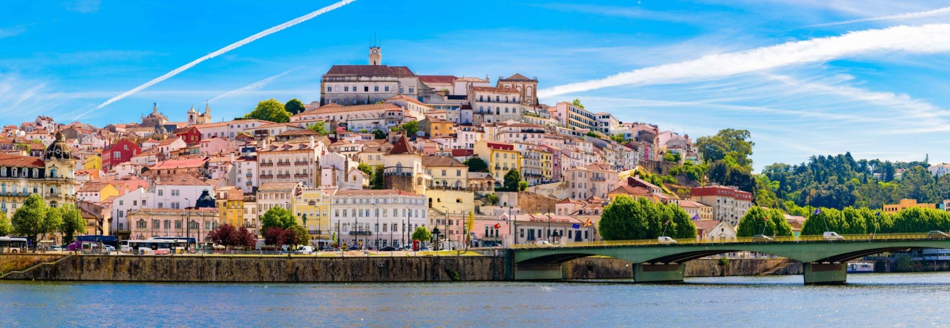 Vue sur Coimbra